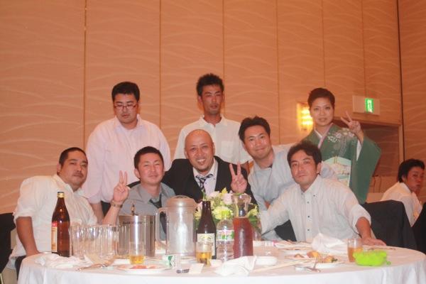 3代目結婚パーティー