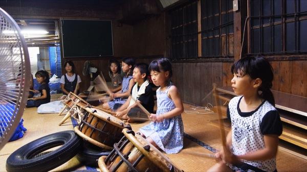 南房総市富浦祭礼練習風景09