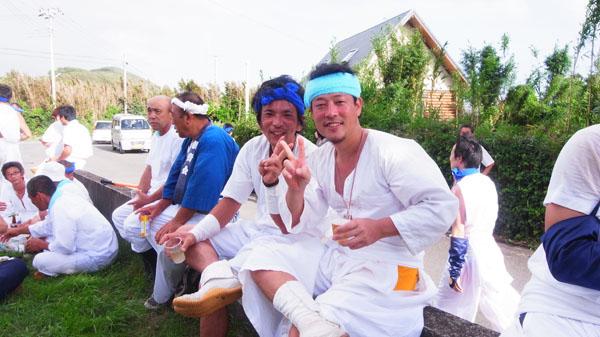 南房総 富浦 多々良地区 神輿祭り02