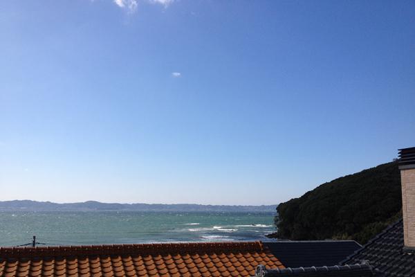 南房総富浦 年間民宿げんべいからの眺望 2012 3月